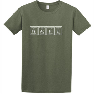 I Teach Science Periodically -  Athletic Fit T Shirt