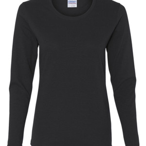 Scary Teacher - Heavy Cotton Missy Fit Long Sleeve T-Shirt