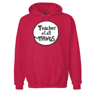 Teacher Of All Things - PrintProXP Ultimate Cotton® Hooded Sweatshirt
