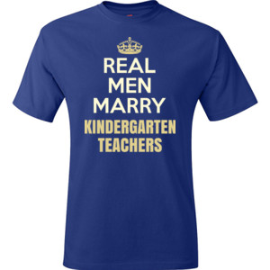 Real Men Marry ~ Customizable ~  - Hanes - TaglessT-Shirt - DTG