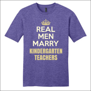 Real Men Marry ~ Customizable ~  - District - Very Important Tee ® - DTG