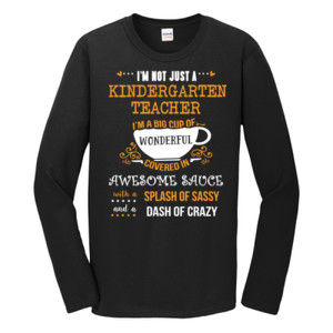 Big Cup Of Wonderful - Template - Gildan - Softstyle ® Long Sleeve T Shirt - DTG