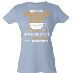 Big Cup Of Wonderful - Template - Tultex - Ladies' Slim Fit Fine Jersey Tee (DTG)