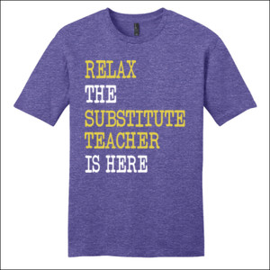 RELAX ~ Customizable Template - District - Very Important Tee ® - DTG