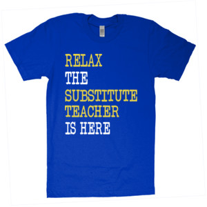RELAX ~ Customizable Template - American Apparel - Unisex Fine Jersey T-Shirt - DTG