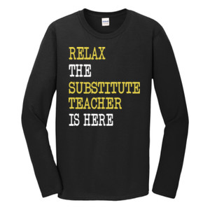 RELAX ~ Customizable Template - Gildan - Softstyle ® Long Sleeve T Shirt - DTG