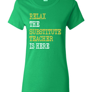 RELAX ~ Customizable Template - Gildan - Ladies 100% Cotton T Shirt - DTG