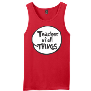 Teacher Of All Things - District - Young Mens The Concert Tank ® (DTG)