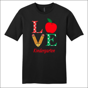 Love Kindergarten - District - Very Important Tee ® - DTG