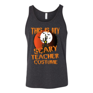 Scary Teacher - Bella Canvas - 3480 (DTG) - Unisex Jersey Tank