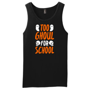Too Ghoul For School - District - Young Mens The Concert Tank ® (DTG)