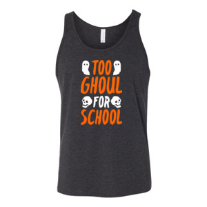 Too Ghoul For School - Bella Canvas - 3480 (DTG) - Unisex Jersey Tank