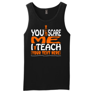 You Can't Scare Me - Template - District - Young Mens The Concert Tank ® (DTG)