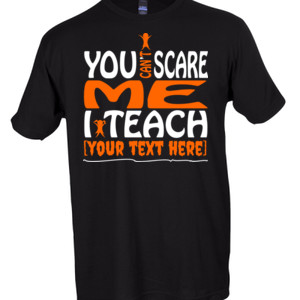You Can't Scare Me - Template - Tultex - Unisex Fine Jersey Tee