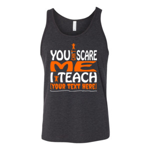You Can't Scare Me - Template - Bella Canvas - 3480 (DTG) - Unisex Jersey Tank