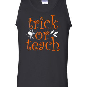 Trick Or Teach - Gildan - 2200 (DTG) - 6oz 100% Cotton Tank Top