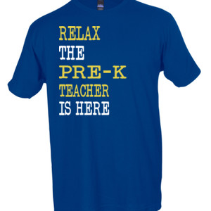 Relax ~ The Pre-K Teacher Is Here - Tultex - Unisex Fine Jersey Tee
