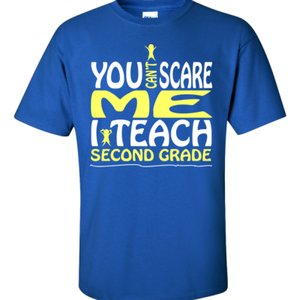 You Can't Scare Me I Teach Second Grade