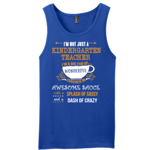 Big Cup Of Wonderful - Template - District - Young Mens The Concert Tank ® (DTG)