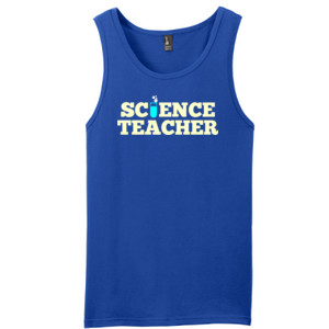 Science Teacher - District - Young Mens The Concert Tank ® (DTG)
