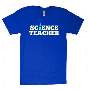 Science Teacher - American Apparel - Unisex Fine Jersey T-Shirt - DTG