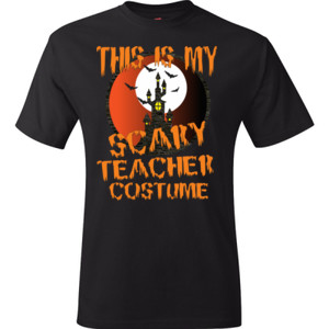 Scary Teacher - Hanes - TaglessT-Shirt - DTG