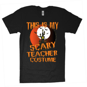 Scary Teacher - American Apparel - Unisex Fine Jersey T-Shirt - DTG