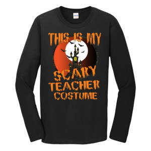Scary Teacher - Gildan - Softstyle ® Long Sleeve T Shirt - DTG