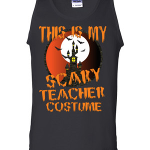 Scary Teacher - Gildan - 2200 (DTG) - 6oz 100% Cotton Tank Top