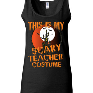 Scary Teacher - Gildan - 64200L (DTG) 4.5 oz Softstyle ® Junior Fit Tank Top