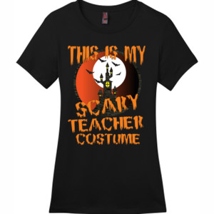 Scary Teacher - District - DM104L (DTG) - Ladies Crew Tee