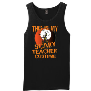 Scary Teacher - District - Young Mens The Concert Tank ® (DTG)