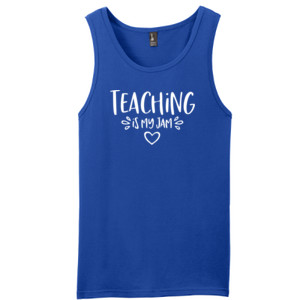 Teaching Is My Jam! - District - Young Mens The Concert Tank ® (DTG)